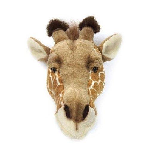 Wild and Soft Dierenkop Giraffe