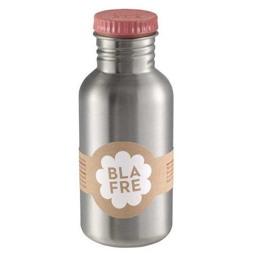 Blafre Drinkfles RVS pink 500ml