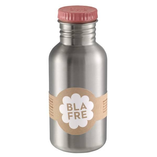 Blafre RVS drinkfles pink van Blafre 500ml