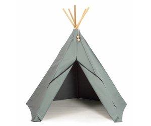 Tipi Tent Kinderkamer : Tipi tent groen voor in de kinderkamer van roommate klein en stoer