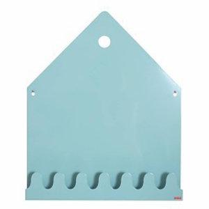 Roommate Magneetbord village  pastel blauw