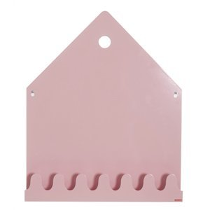 Roommate Magneetbord village  pastel roze