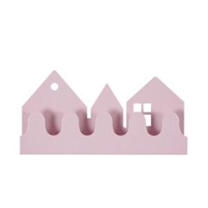 Roommate Kapstok village pastel roze