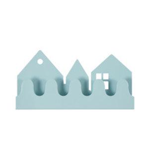 Roommate Kapstok village pastel blauw