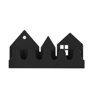 Roommate Kapstok village zwart