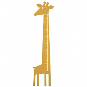 Roommate Meetlat giraffe geel