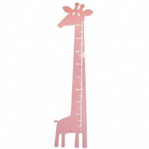 Roommate Meetlat giraffe pastel roze