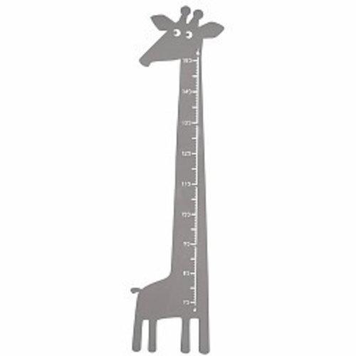Roommate Meetlat giraffe grijs