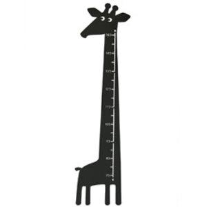 Roommate Meetlat giraffe zwart