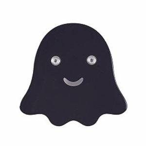 Roommate Wandhaakje spookje zwart