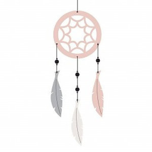 Roommate Dreamcatcher roze