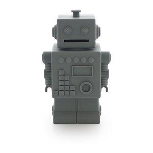 KG Design Robot spaarpot donkergrijs