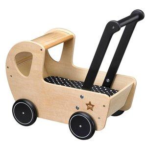 Kids Concept Houten poppenwagen