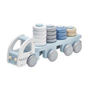 Kids Concept Houten vrachtwagen met ringen