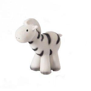 Tikiri Zebra bad/bijtspeeltje met rammelaar