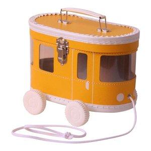 Kidsboetiek Okergele tram koffertje