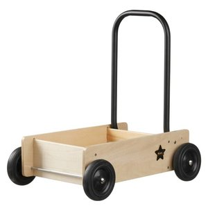 Kids Concept Houten loopwagen
