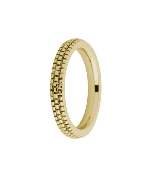 MelanO Melano - Ring Sarah refined engraved, G