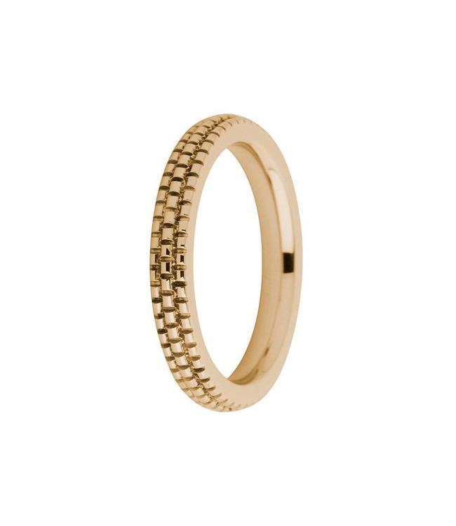 MelanO Ring Sarah refined engraved, RG