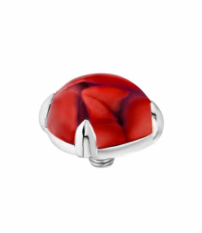 MelanO Twisted Bold , 08MM SS, Dark red