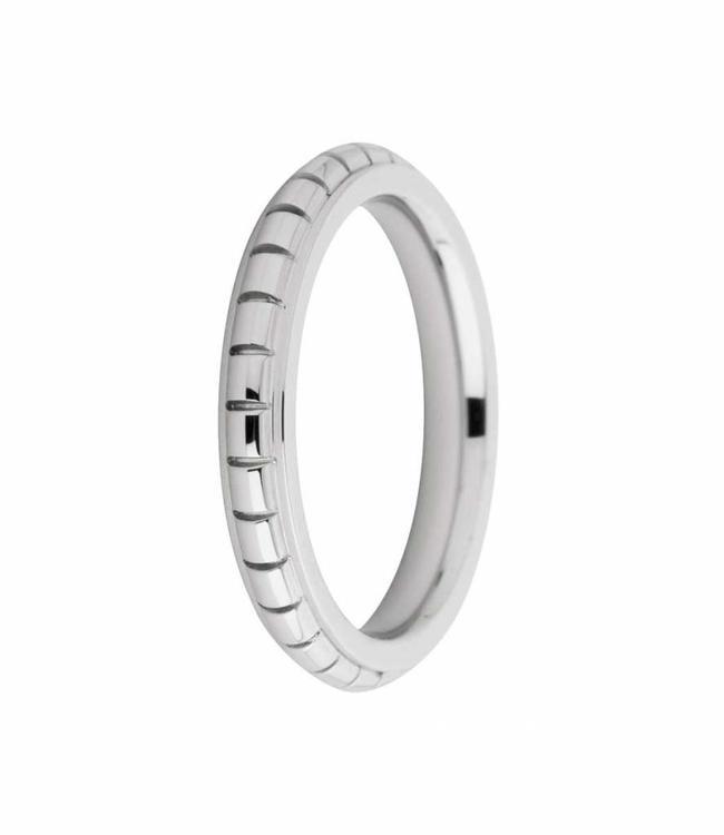 MelanO Ring Sarah engraved, SS
