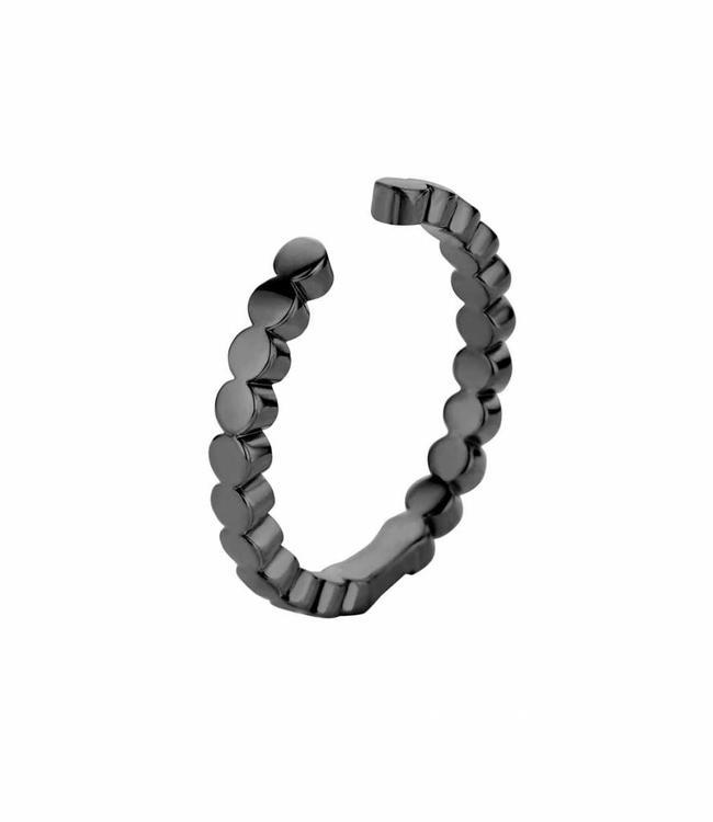 MelanO Ring Twisted Tina, Black