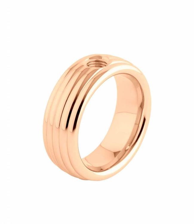MelanO Ring vivid vera rosegold plated