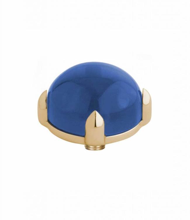 MelanO Twisted meddy round, G, Blue