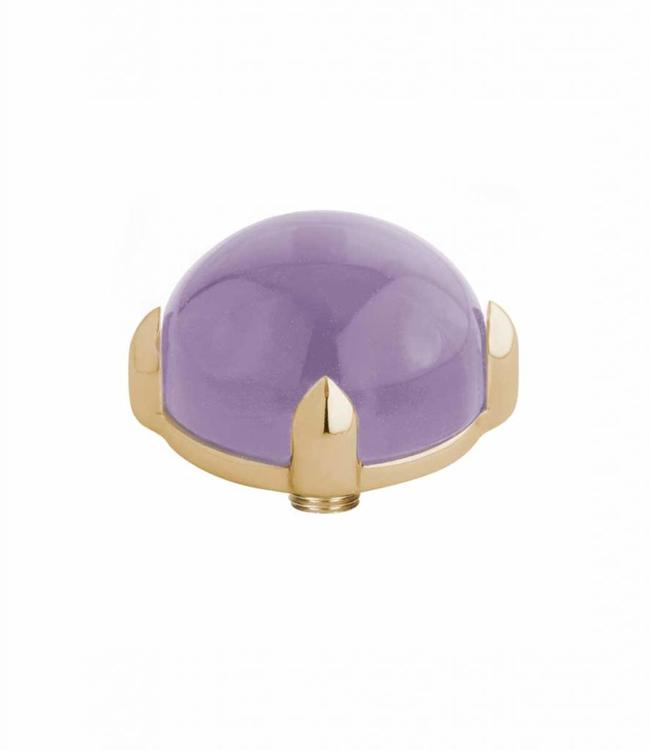 MelanO Twisted meddy round, G, Lavender