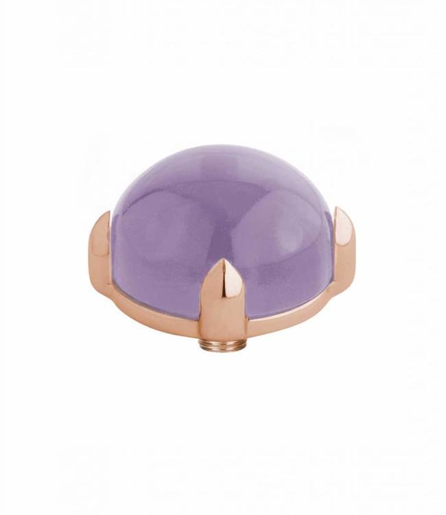 MelanO Twisted meddy round, RG, Lavender