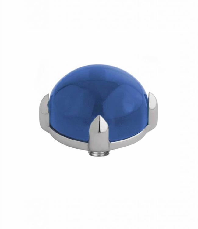 MelanO Twisted meddy round, SS, Blue
