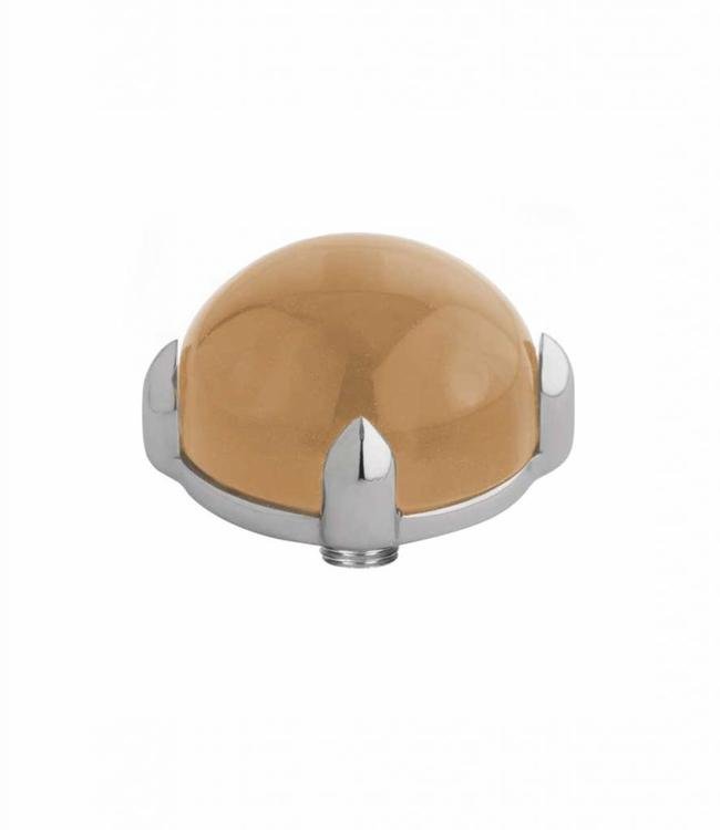 MelanO Twisted meddy round, SS, Champagne