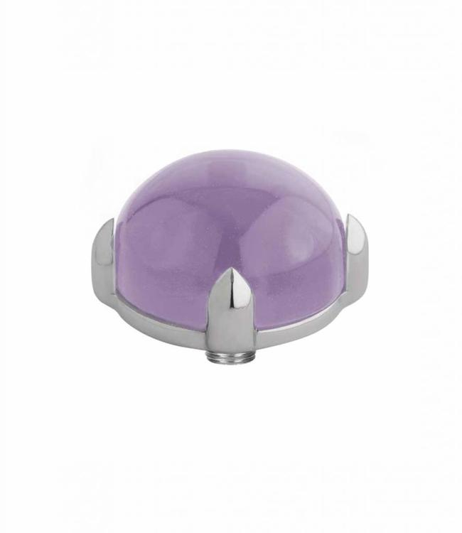 MelanO Twisted meddy round, SS, Lavender