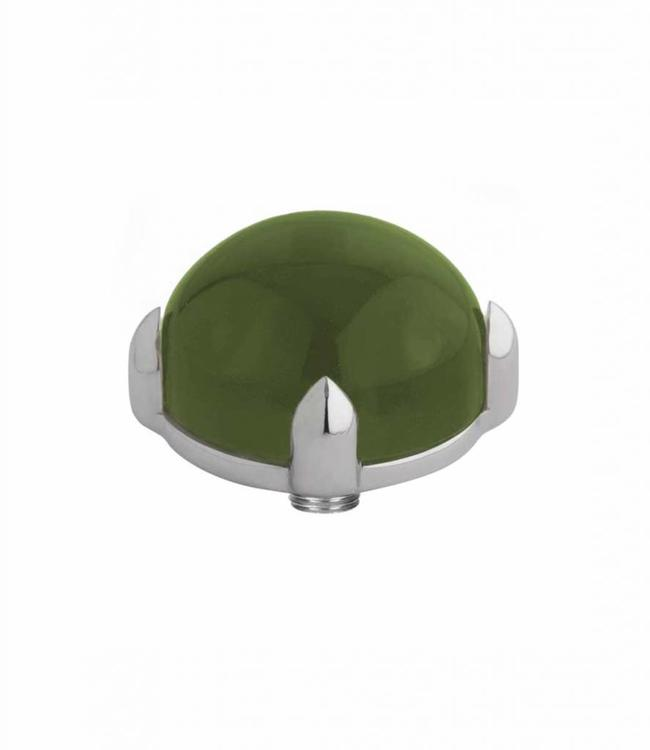 MelanO Twisted meddy round, SS, Olive