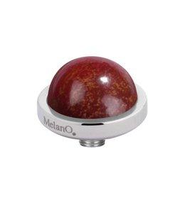 MelanO Vivid meddy gemstone, SS, Rainbow jasper