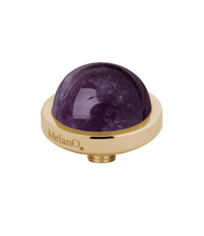 MelanO Vivid meddy gemstone, G, Amathyst