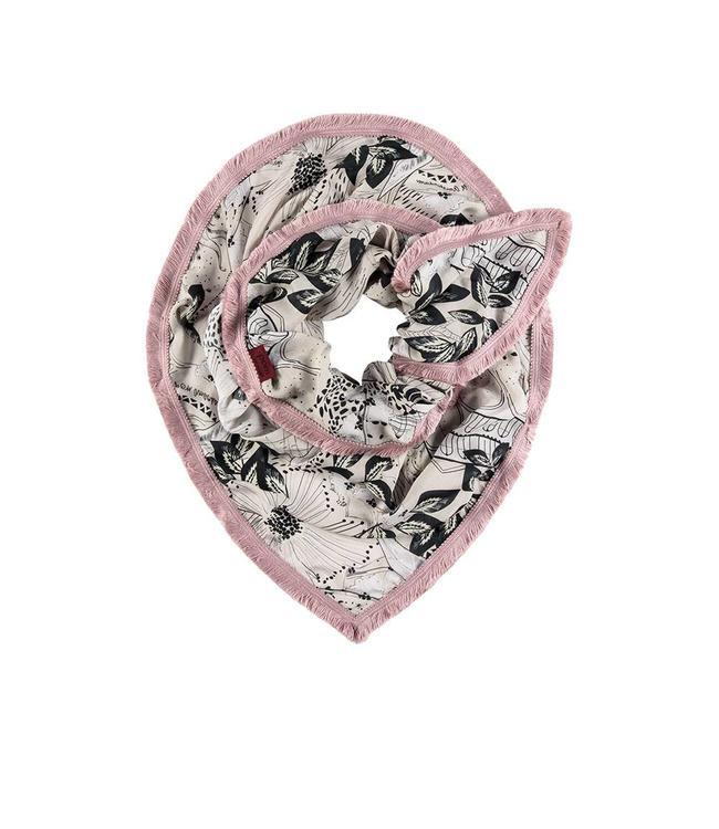 POM Amsterdam Sjaal Japanese blossom neutral