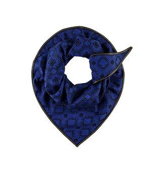 POM Amsterdam Sjaal premium diamond blue