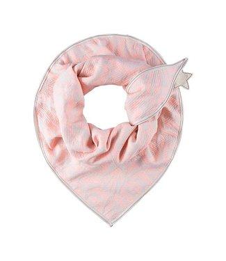 POM Amsterdam Sjaal Premium Pastel Rose Coral 416