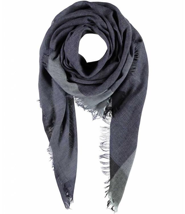 Passigatti Sjaal Navy Blue