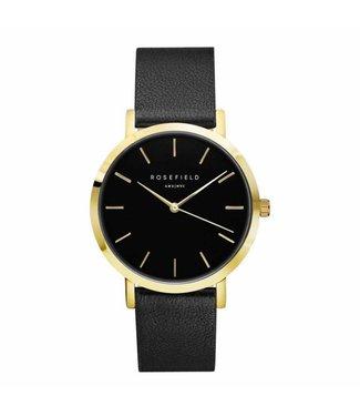 Rosefield Watch Gramercy black black gold