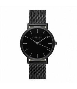 Rosefield uurwerk Mercer Black black