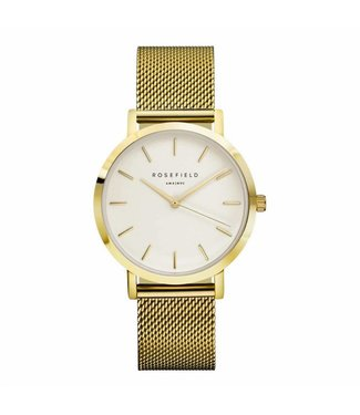 Rosefield Montre Mercer white gold