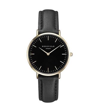 Rosefield Montre Tribeca black black gold