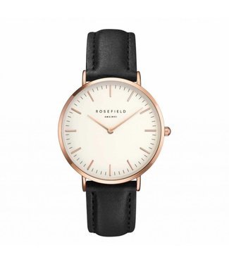 Rosefield Watch Tribeca white black rosegold
