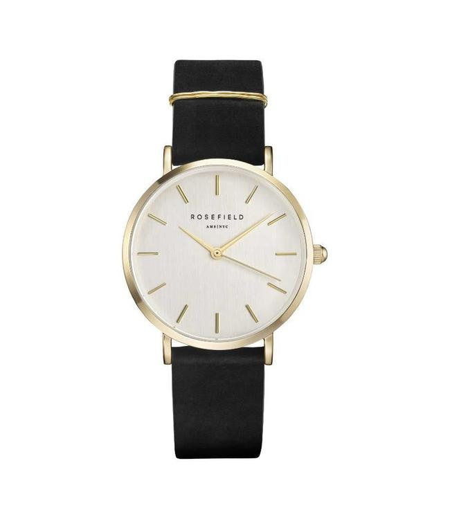 Rosefield Montre West Village Black Gold