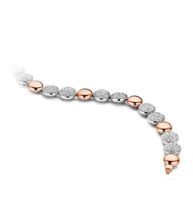 Silver Rose Armband Linia