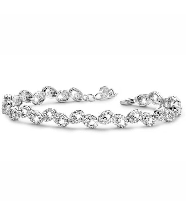Silver Rose Armband Eline