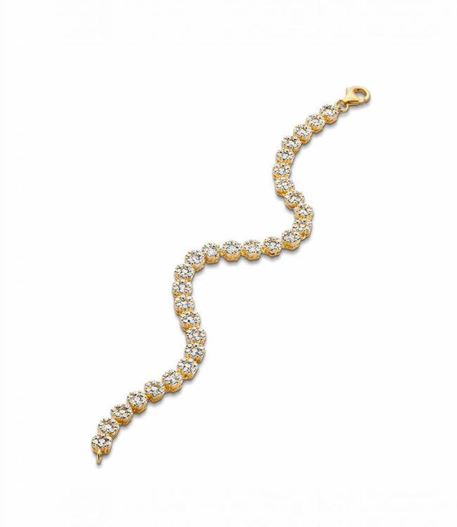 Silver Rose Armband Emiliana