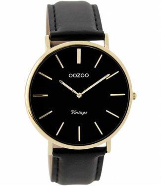 Oozoo Uurwerk Vintage black/gold